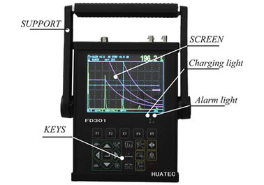 China Ultrasonic Testing Instrument Flaw Detector FD301 , non destructive testing systems supplier