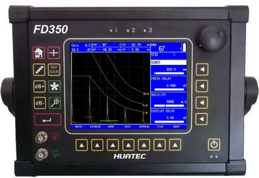 China FD350 Ultrasonic Flaw Detector Big Display with Color TFT LCD 640 X 480 pixels supplier