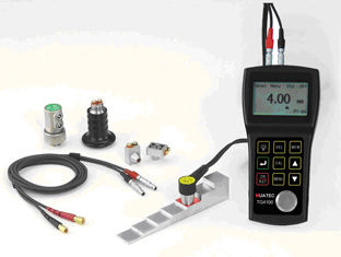 China Ultrasonic Through Coating Thickness Gauge TG4100 in 5MHz  Echo To Echo distributor