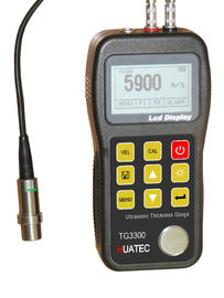Plastic Non Destructive Testing Equipment , ultrasonic thickness tester  TG-3300