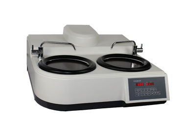China Two working plates Excellent Metallographic Equipment in 254mm Disc Diameter distributor
